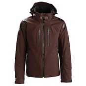 Descente Titus Mens Insulated Ski Jacket, Dark Brown, medium