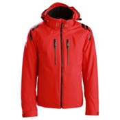 Descente Titus Mens Insulated Ski Jacket, Electric Red, medium