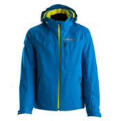Descente Canada Cross Mens Insulated Ski Jacket, Cobalt Blue, medium