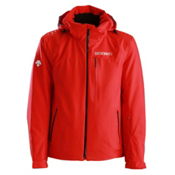 Descente Canada Cross Mens Insulated Ski Jacket, Electric Red, medium