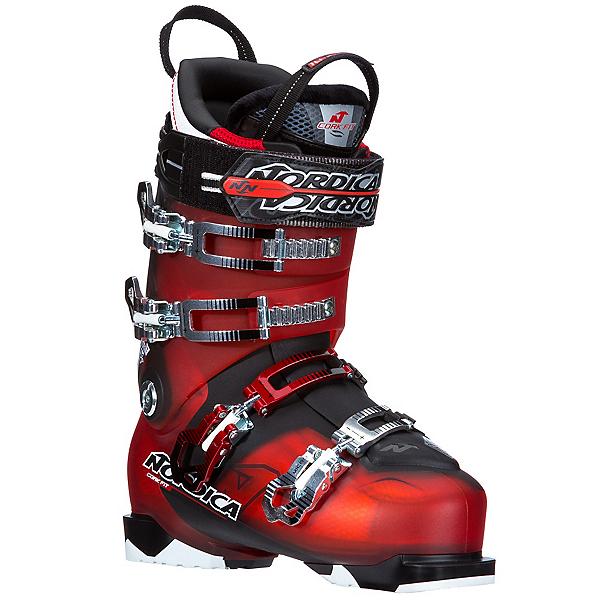 Nordica NRGy Pro 3 Ski Boots, Red-Black, 600