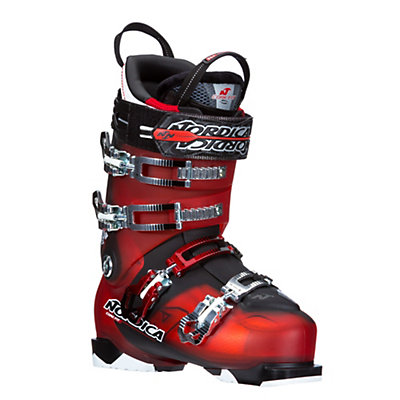 Nordica NRGy Pro 3 Ski Boots, Red-Black, viewer
