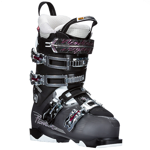 Nordica NXT N2W Womens Ski Boots, Black, 600