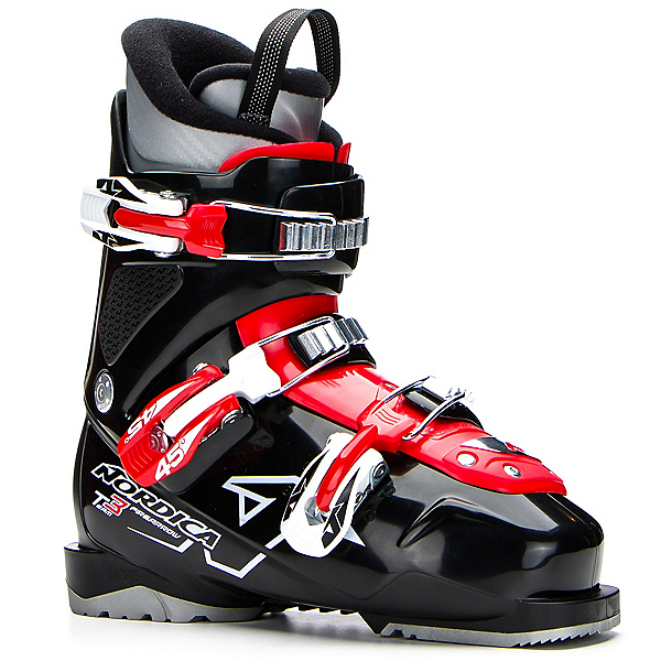 Nordica Team 3 Kids Ski Boots 2017, Black, 600