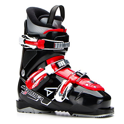 Nordica Team 3 Kids Ski Boots 2017, Black, viewer