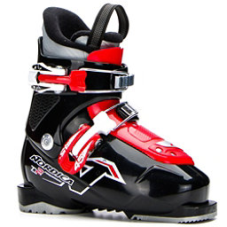 Nordica Team 2 Kids Ski Boots 2017, Black, 256