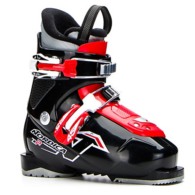 Nordica Team 2 Kids Ski Boots 2017, Black, viewer