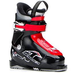Nordica Team 1 Kids Ski Boots 2018, Black-Red, 256