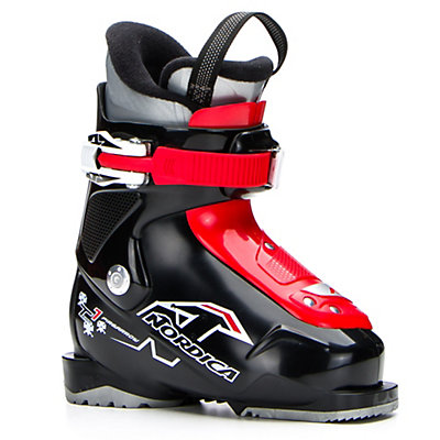 Nordica Team 1 Kids Ski Boots 2017, Black, viewer