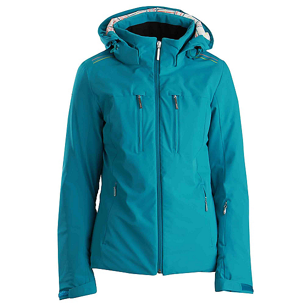 Descente Becca Womens Insulated Ski Jacket, Christmas Green, 600