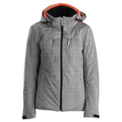 Descente Becca Womens Insulated Ski Jacket, Monotone Glen Check, medium