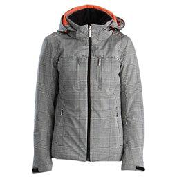 Descente Becca Womens Insulated Ski Jacket, Monotone Glen Check, 256