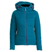 Descente Sienna Womens Insulated Ski Jacket, Xmas Green, medium