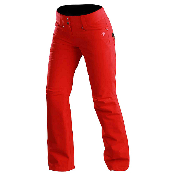 Descente Selene Womens Ski Pants, Electric Red, 600