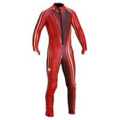 Descente DH Race Suit, Electric Red Lightning, medium