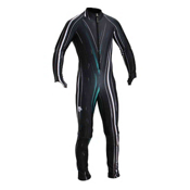 Descente DH Race Suit, Black Lightning Print, medium