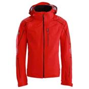 Descente Baron Mens Insulated Ski Jacket, Electric Red, medium