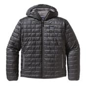 Patagonia Nano Puff Hoody Jacket, Forge Grey, medium