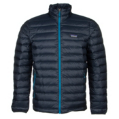Patagonia Down Sweater Jacket, Navy Blue-Underwater Blue, medium