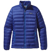 Patagonia Down Sweater Womens Jacket, Andes Blue, medium