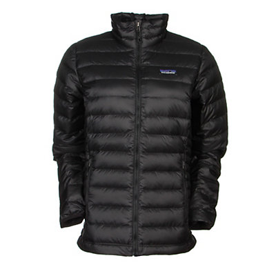 Patagonia Down Sweater Womens Jacket, Black, viewer