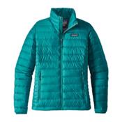 Patagonia Down Sweater Womens Jacket, Elwha Blue, medium
