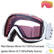 Smith I/O Goggles 2015, White-Ignitor + Bonus Lens, medium