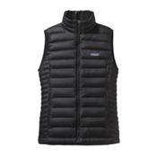 Patagonia Down Sweater Womens Vest, Black, medium