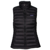 Patagonia Down Sweater Womens Vest, Black, medium