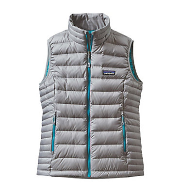 Patagonia Down Sweater Womens Vest, Black, viewer