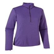 Patagonia Capilene 3 MW Zip Neck Womens Long Underwear Top, Violetti-Tempest Purple X Dye, medium