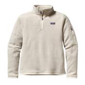 Patagonia Better Sweater 1/4 Zip Womens Mid Layer, Raw Linen, medium