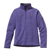 Patagonia Better Sweater 1/4 Zip Womens Mid Layer, Violetti, medium
