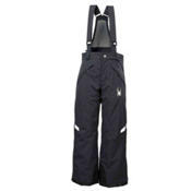 Spyder Force Kids Ski Pants, Black-White, medium