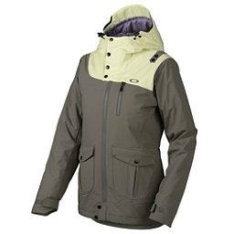 Oakley 10-4 Womens Insulated Snowboard Jacket, Grigio Scuro, 256