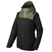 Oakley 10-4 Womens Insulated Snowboard Jacket, Jet Black, medium