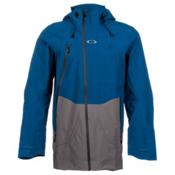 Oakley Aircraft 3L Gore-Tex Mens Shell Ski Jacket, Moroccan Blue, medium