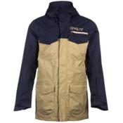 Oakley Blackhawk Biozone Mens Insulated Snowboard Jacket, Peacoat, medium