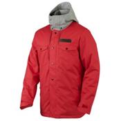 Oakley Division Mens Shell Ski Jacket, Red Line, medium