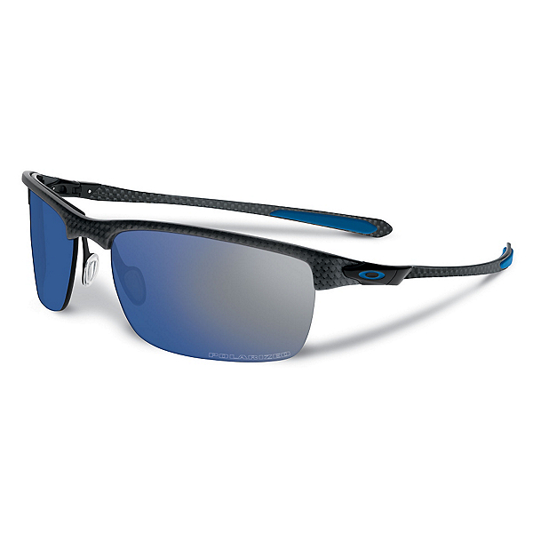 Oakley Carbon Blade Polarized Sunglasses, Matte Carbon, 600