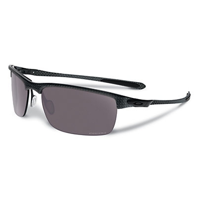 Oakley Carbon Blade Polarized Sunglasses, Matte Carbon, viewer
