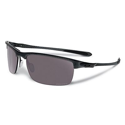 Oakley Carbon Blade Polarized Sunglasses, Matte Carbon, viewer