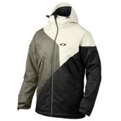 Oakley Brigade Mens Insulated Ski Jacket, Arctic White, medium