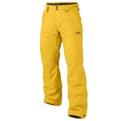 Oakley Fleet Insulated Mens Ski Pants, Bright Orange, medium