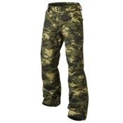 Oakley Fleet Insulated Mens Ski Pants, Olive Camo, medium