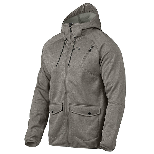 Oakley Fuel Tank Fleece Mens Jacket, Grigio Scuro, 600