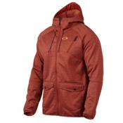 Oakley Fuel Tank Fleece Mens Jacket, Burnt Henna, medium