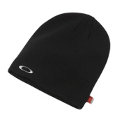 Oakley Fine Knit Beanie Hat, Black, medium