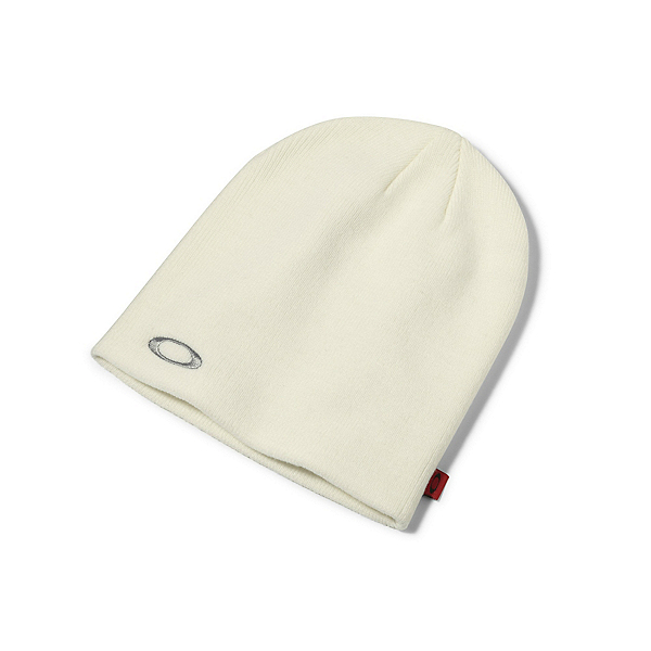 Oakley Fine Knit Beanie Hat, White, 600