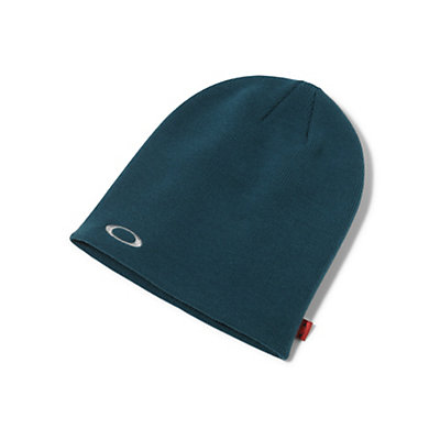 Oakley Fine Knit Beanie Hat, Black, viewer